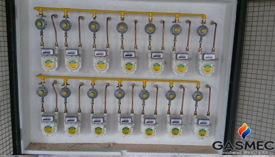 Instalação de gas glp residencial