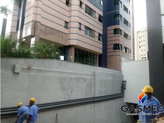 Instalação de gas residencial
