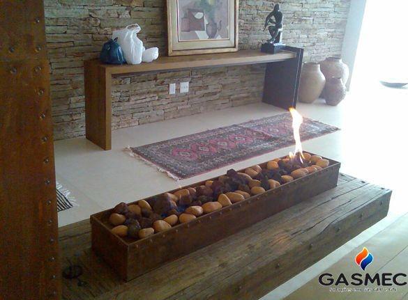 Instalação residencial de gás