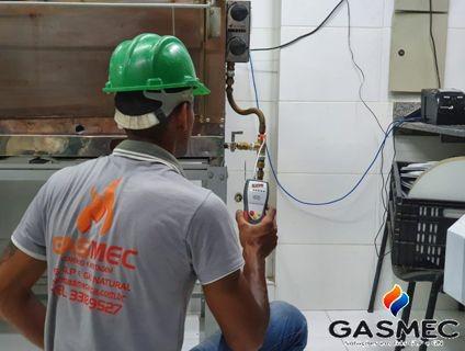 Manutenção preventiva e corretiva gás