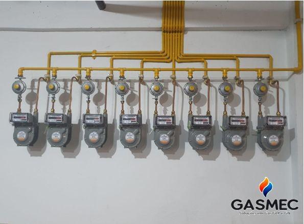 Projeto e execução de instalação de gás natural