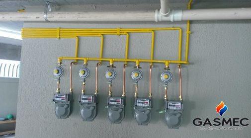 Projeto de gás glp