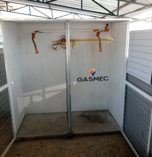 Projeto de instalação de gás predial