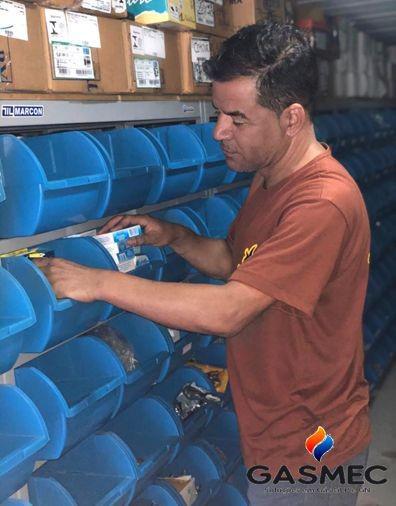 Serviço de instalação de gas