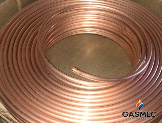 Tubo de cobre para gas glp