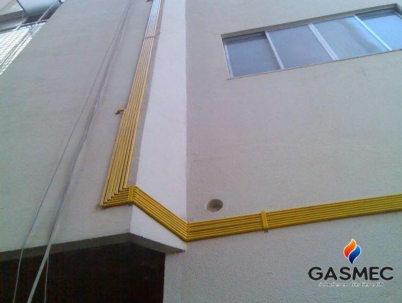 Tubulação para gas