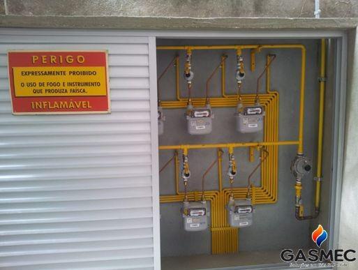 Tubulação para gás residencial