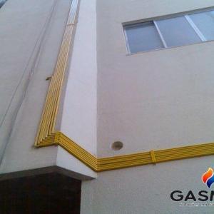 Instalação de gas glp